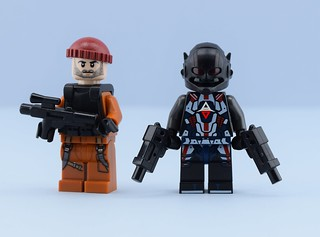 Dc minifigs #6 The Arkham Knight