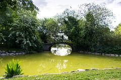 Bridge (Maria Eklind) Tags: pond bicycle bridge pildammsparken reflection sweden malmö bro damm skånelän sverige se