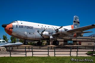 53-0050 USAF   Douglas C-124C Globemaster II   Hill Aerospace Museum