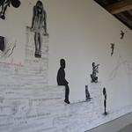 """Fresque """"C'est ce trouble qui est beau …""""Musée de l'Oise"""