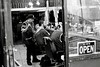 Barbershop (susanjanegolding) Tags: barber haircut citylife hairdresser beardtrim monochrome blackandwhite comb yeswereopen manhattanvalley bloomingdaledistrict newyorkcity uptown