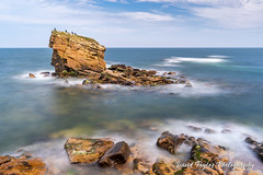 Collywell Bay (dtaylorphotography) Tags: beach british charliesgarden coast coastline collywellbay england formation geological geology greatbritain horizontal landscape longexposure northeast northumberland outdoors rock sandstone uk unitedkingdom