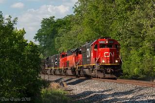 CN U70261-25 @ Saxonburg, PA