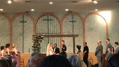 """Lauren and Bradley's Wedding Ceremony • <a style=""""font-size:0.8em;"""" href=""""http://www.flickr.com/photos/109120354@N07/42387432832/"""" target=""""_blank"""">View on Flickr</a>"""