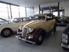83-DA-53 SIMCA *8*  cabriolet 1950 / 1975 bij Classic Job Dalfsen (willemalink) Tags: 83da53 simca 8 cabriolet 1950 1975 bij classic job dalfsen