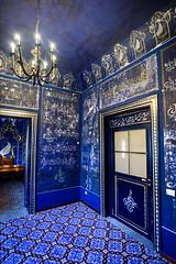 Palermo - Ballarò - Camera delle Meraviglie (bautisterias) Tags: palermo sicily sicilia southernitaly italy unesco arabnormanpalermo arabic d750 blue cobalt