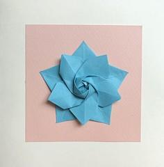 More origami (anuradhadeacon-varma) Tags: papercrafts paperfolding tantpaper origami star origamistar sakurastar