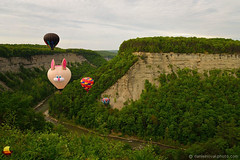 Fred B Rabbit over Letchworth - 17th Annual Red, White, and Blue Balloon Festival (DTE_1025) (masinka) Tags: trees etbtsy letchworth gorge genesee river deep fred rabbit statepark 17th annual festival balloon redwhiteandblue memorialday weekend 2018 danielnovakphoto ny nys tradition picturesque colors