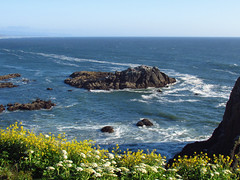 Yaquina Head Natural Area in OR (Landscapes in The West) Tags: yaquinahead naturalarea pacificcoast oregon pacificocean pacificnorthwest oregoncoast