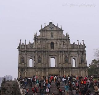 Ruins of St.Paul Cathedral, Macau.