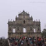 Ruins of St.Paul Cathedral, Macau. thumbnail