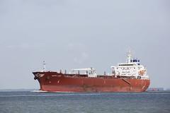 HAPPY LADY (angelo vlassenrood) Tags: ship vessel nederland netherlands photo shoot shot photoshot picture westerschelde boot schip canon angelo walsoorden happylady tanker