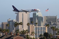 FedEx (So Cal Metro) Tags: fedex boeing 767 n132fe federalexpress cargo courier freight delivery airline airliner airplane aircraft plane jet aviation airport san sandiego lindberghfield