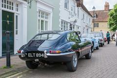 1965 Jaguar E-Type 4.2 - ELT 894C - Classic Stony 2018 (Trackside70) Tags: classicstony 2018 stonystratford miltonkeynes uk classiccar cars show vintage sunshine automobile historic nikond7100 nikonafsdxnikkor1685mmf3556gedvr pse14 jaguar etype
