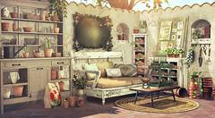 Quiet Time (Sienna Skye Foxdale) Tags: fameshed acorn hpmd myrrine soy ariskea anhelo summer secondlife digitalart outdoors theimaginarium