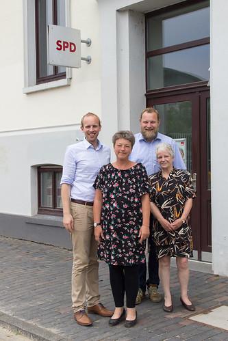 Austausch mit Corinna Schroth von der Bundesinteressenvertretung für alte und pflegebetroffene Menschen (BIVA) und meinen Landtagskollegen Ulf Prange und Hanna Naber in Oldenburg.