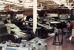 Vickers Tanks, Bovington Tank Museum 1981 (Richard.Crockett 64) Tags: vickers vickersarmstrongs light amphibious tank armouredfightingvehicle militaryvehicle royaltankregiment royalarmouredcorps briitsharmy bovingtontankmuseum bovington dorset 1981