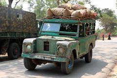 Chander Gari: Land Rover Series III, Bangladesh. (Samee55) Tags: bangladesh carspotting carsofbangladesh vehiclesofbangladesh vehicledocumentation 2018 chander gari land rover jeepney publictransport chittagong hill tracts