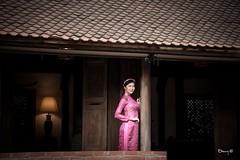 Vietnamese Fashion Model Ao Dai Gam Traditional Dress (Hai Tuoi) Tags: vietnamese fashion model ao dai gam traditional dress