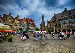Market Square in Bremen, Germany