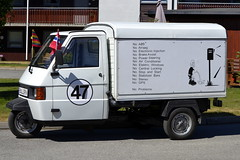 Piaggio Ape Tm Van (Inger Bjørndal Foss) Tags: piaggio ape tm van vehicle