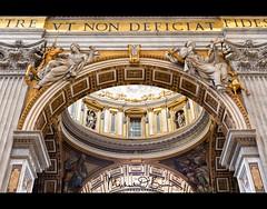 Basilica di San Pietro (MPOBrien) Tags: sanpietro basilica rome vatican cittàdelvaticano italy