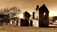 Ruins - Plouarzel (patrick_milan) Tags: cof27 plouarzel old vintage sepia house ruins cof027stef cof027chri cof027dmnq cof027cg cof0273mbo cof027ettigirbs