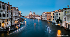 Canal Traffic (burntpixel.ca) Tags: venice italy europe water canal photo photograph fine art patrick mcneill burntpixel beautiful amazing canon m3 canonm3 horizontal evening travel trip wander adventure journey overseas urban boats city