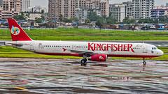 Kingfisher Airbus A321 VT-KFZ Mumbai (VABB/BOM) (Aiel) Tags: kingfisherairlines kingfisher airbus a321 vtkfz mumbai