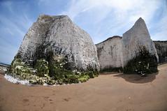 DSC_4881 (Thomas Cogley) Tags: botany bay seaside sea front seafront beach cliff chalk fisheye lens nikon 105mm shore formation