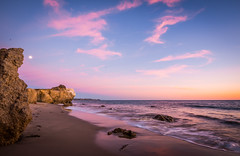 Malibu California Ocean & Beach Pastel Blue Hour Sunset Dusk! Pacific Sunset Beautiful Vista Views! Nikon D810 & Sharp AF-S NIKKOR 14-24mm F2.8G ED Lens from Nikon Wide Angle Zoom! Long Exposure Fine Art Landscape Seascape HDR Photography! McGucken Photos (45SURF Hero's Odyssey Mythology Landscapes & Godde) Tags: malibu california ocean beach sea cave sunset dusk blue hour beautiful vista views nikon d810 sharp afs nikkor 1424mm f28g ed lens from wide angle zoom long exposure fine art landscape seascape hdr photography elliot mcgucken photos pacific