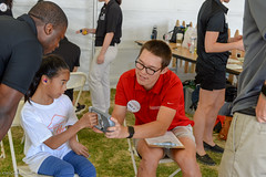 20180609-SG-Day1-Healthy-Athletes-JDS_4850 (Special Olympics Southern California) Tags: avp albertsons basketball bocce csulb ktla5 longbeachstate openingceremony pavilions specialolympicssoutherncalifornia swimming trackandfield volunteers vons flagfootball summergames