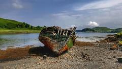 Kerrera Island (Michelle O'Connell Photography) Tags: scotland kerrera abandonedboat shipwreck boatgraveyard boat michelleoconnellphotography