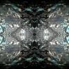 Watching (rhonda_lansky) Tags: eyeshapes eye seeing watching dark greay paint painted mirror mirrored flip flipped vision mirrorart lansky rhonda rhondalansky