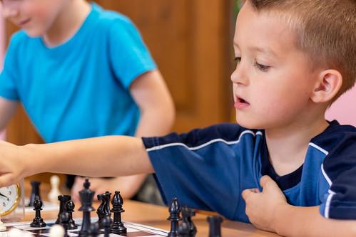 VIII Turniej Szachowy o Mistrzostwo Przedszkola Europejska Akademia Dziecka-30