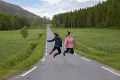 Hopp og sprett (G E Nilsen) Tags: nordland norway no hopp sprett vei skog norge northernnorway
