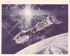 astp_v_c_o_TPMBK (NASA-S-74-24913) (apollo_4ever) Tags: soyuz19 humanspaceflight mannedspaceflight mannedspacecraft cm111 csm111 naa nar northamericanaviation northamericanrockwell apollospacecraft earthorbit spacedocking commandservicemodule dockingmodule robertmccall soyuzspacecraft nasaspacecraft rendezvousanddocking astp apollosoyuztestproject