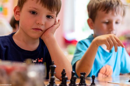 VIII Turniej Szachowy o Mistrzostwo Przedszkola Europejska Akademia Dziecka-5