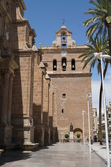 Almeria Cathedral, Spain (mattk1979) Tags: almeria sun outdoors city buildings spain europe sky clouds cathedral