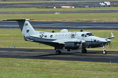 09-0456 Beech MC12W Liberty EGPK 16-06-18 (MarkP51) Tags: 090456 beech mc12w liberty usarmy military turboprop prestwick airport pik egpk ayrshire scotland aircraft airplane airliner plane image markp51 nikon d7200 sunshine sunny aviationphotography