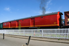 80437 Bo'ness & Kinneil Railway 190518 (Dan86401) Tags: bkr bonesskinneilrailway 80437 mk1 mark1 coach carriage nta pot postofficestowagevan tpo travellingpostoffice mail parcels rm royalmail