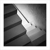 Zona de pas XII / Transit area XII (ximo rosell) Tags: ximorosell bn blackandwhite blancoynegro bw buildings llum luz light arquitectura architecture abstract abstracció squares stairs nikon d750 detall composició valencia spain