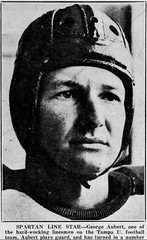 1937 Tampa spartan line star- George aubert (Jbsbbailey) Tags: tampa spartans football 1937 nash higgins george aubert