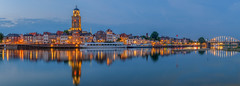 DSCF0119.jpg (brammetje2012) Tags: holland night deventer fujixt20 lebuinuskerkdeventer fujinonxf1855mm284lmois avond nederland panorama reflections fuji nightphotography flickrunitedaward wilhelminabrug