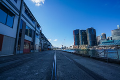 DSC01520 (Damir Govorcin Photography) Tags: leading lines wide angle pyrmont sydney cbd water clouds zeiss 1635mm sony a7rii
