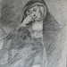 CONSTABLE John - Femme Religieuse assise (Louvre RF6115) - 0