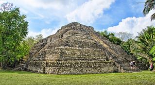 Chacchoben Mayan Temple, Costa Maya Mexico