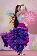 Adorable (byzanceblue) Tags: samba kobe carnival bellydance dancer beautiful woman girl longhair hair bokeh japan asian japanese female cute sexy nikkor d850 colour color green portrait tree festival adorable dress straight