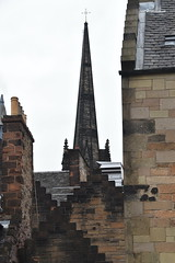 Spire (PLawston) Tags: uk britain scotland edinburgh old town spire