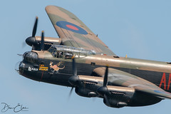 AVRO Lancaster PA474 (Dan Elms Photography) Tags: lancaster avro avrolancaster pa474 wwii ww2 bomber raf bbmf battleofbritainmemorial battleofbritain merlin engine prop propellor propspin shuttleworth theshuttleworthcollection oldwarden airshow ukairshow2018